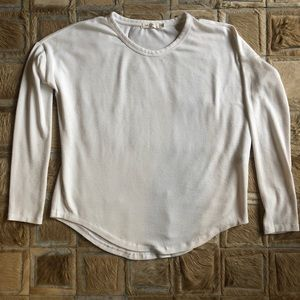 Rag & Bone White Cotton Tee Size S/P